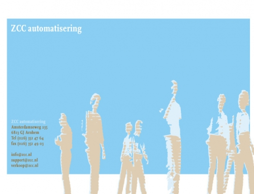 Eerste website ZCC Automatisering in 2002